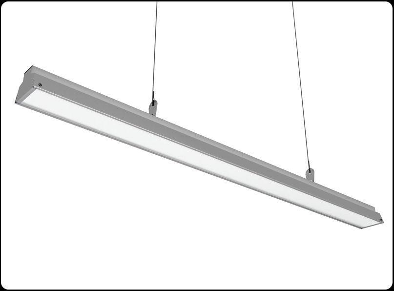Освещение торгового зала – купить линейные светильники